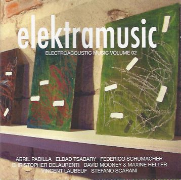 Electroacoustic Music vloume 02 CD cover